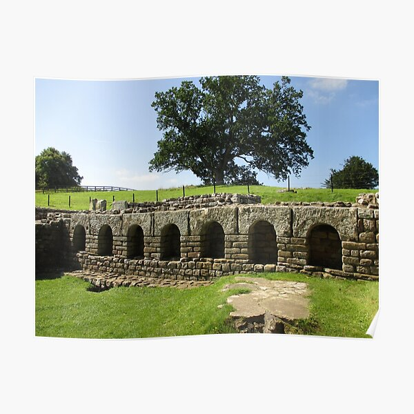 M.I. #113  ☼  The Changing Hall - Shot 2 (Hadrian's Wall) Poster