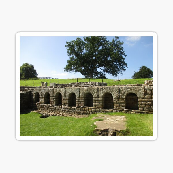 M.I. #113  ☼  The Changing Hall - Shot 2 (Hadrian's Wall) Sticker