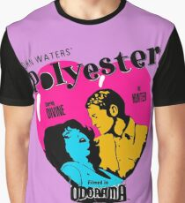 Polyester: Hello Francine! Graphic T-Shirt