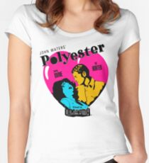 Polyester: Hello Francine! Women's Fitted Scoop T-Shirt