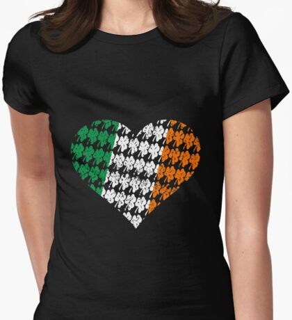 Irish Flag Heart T-Shirt