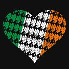Irish Flag Heart by EthosWear