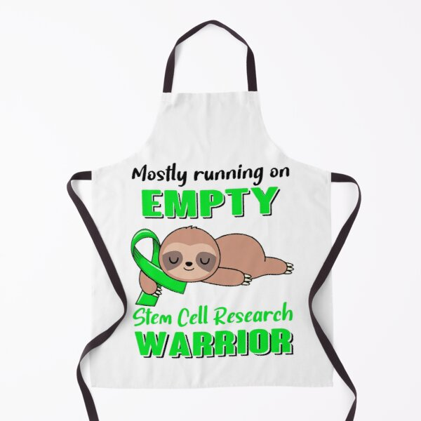 Mostly Running On Empty Stem Cell Research Warrior Apron