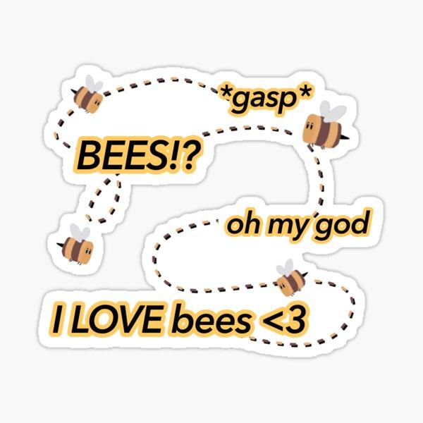 I love bees tubbo dream smp Sticker