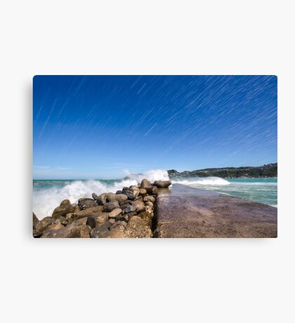 Lyall Bay Today Canvas Print