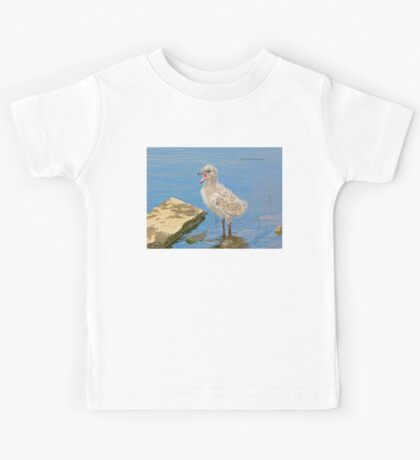 Chick Looking for Mum (Baby Seagull) Kids Clothes