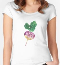Turnip for What Women's Fitted Scoop T-Shirt