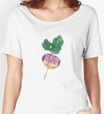 Turnip for What Women's Relaxed Fit T-Shirt