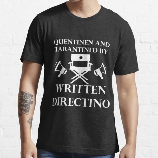quentinen and tarantined - Director's Chair (for dark colors) Essential T-Shirt