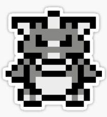 Pokémon Red/Blue/Yellow/Green - Charizard/Rhydon Sprite Sticker