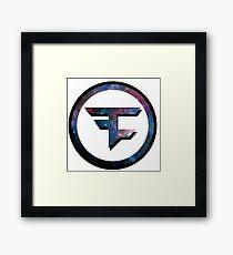 Faze Clan Galaxy Framed Print