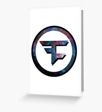 Faze Clan Galaxy Greeting Card