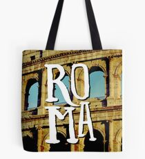 Roma Colosseum Italy Architecture Wanderlust Europe Tote Bag