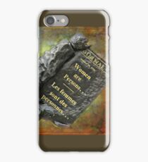Women Are Persons... iPhone Case/Skin