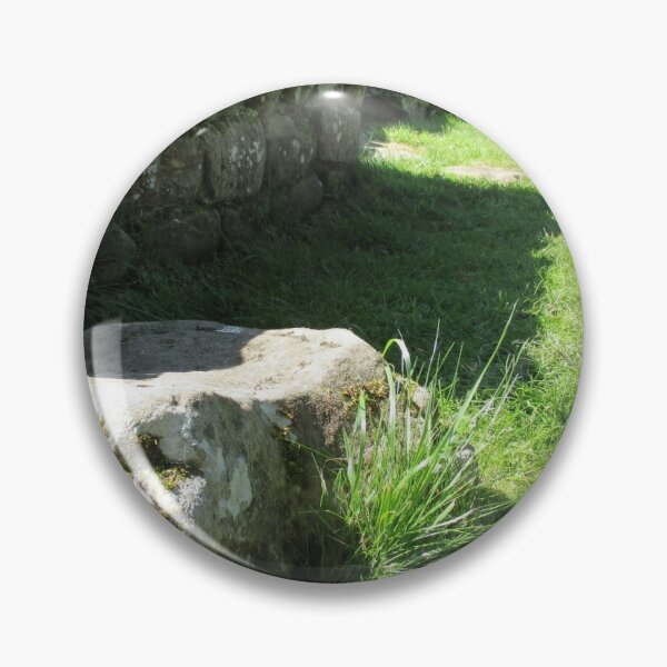 Merch #114 -- Ground Rock Perspective (Hadrian's Wall) Pin