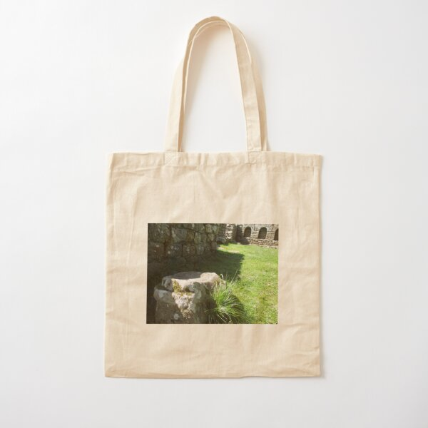 M.I. #114 |☼| Ground Rock Perspective (Hadrian's Wall) Cotton Tote Bag