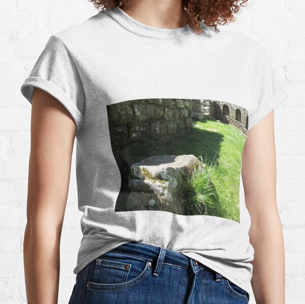 M.I. #114 |☼| Ground Rock Perspective (Hadrian's Wall) Classic T-Shirt