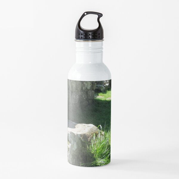 M.I. #114 |☼| Ground Rock Perspective (Hadrian's Wall) Water Bottle