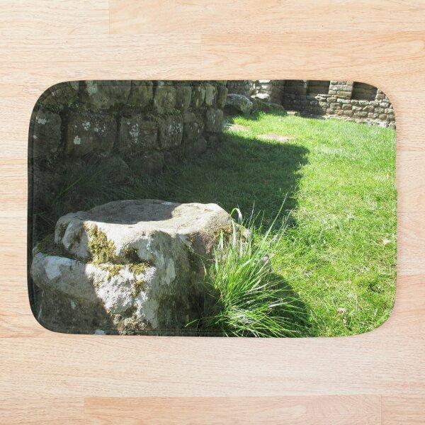 M.I. #114 |☼| Ground Rock Perspective (Hadrian's Wall) Bath Mat