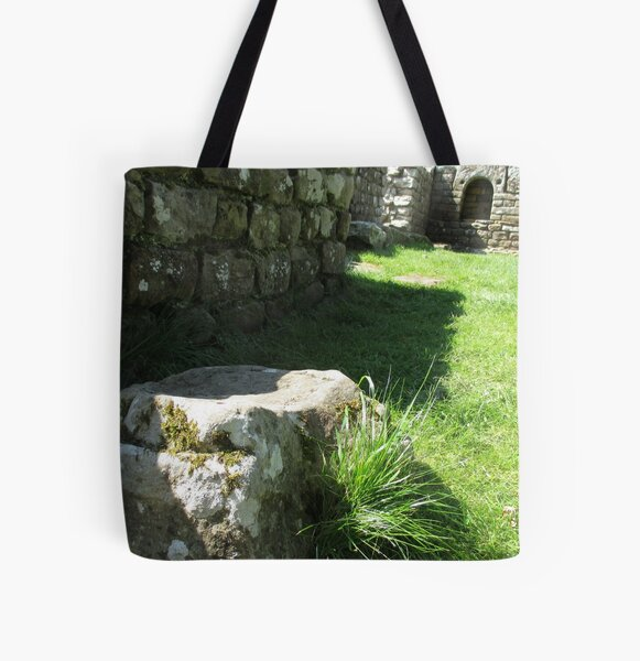 M.I. #114 |☼| Ground Rock Perspective (Hadrian's Wall) All Over Print Tote Bag