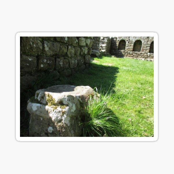 M.I. #114  ☼  Ground Rock Perspective (Hadrian's Wall) Sticker
