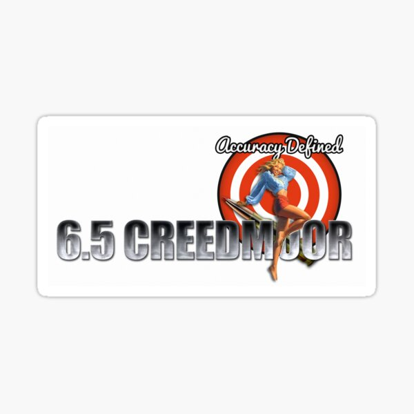 6.5 Creedmoor | Forum Logo Sticker