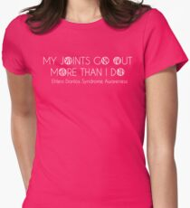 Ehlers Danlos Syndrome Awareness Womens Fitted T-Shirt