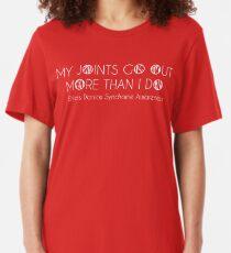 Ehlers Danlos Syndrome Awareness Slim Fit T-Shirt