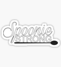 Spoonie Strong Sticker