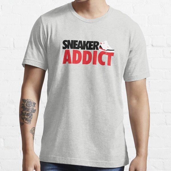 Sneaker Addict J3 Fire Red Essential T-Shirt