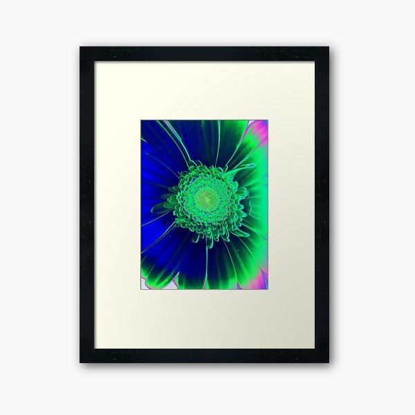Pollen Worlds Framed Art Print