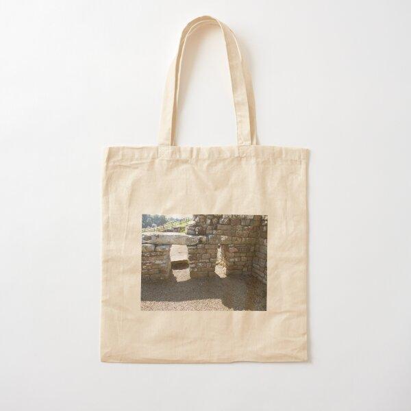 M.I. #115 |☼| Rocks And Bricks - Shot 14 (Hadrian's Wall) Cotton Tote Bag