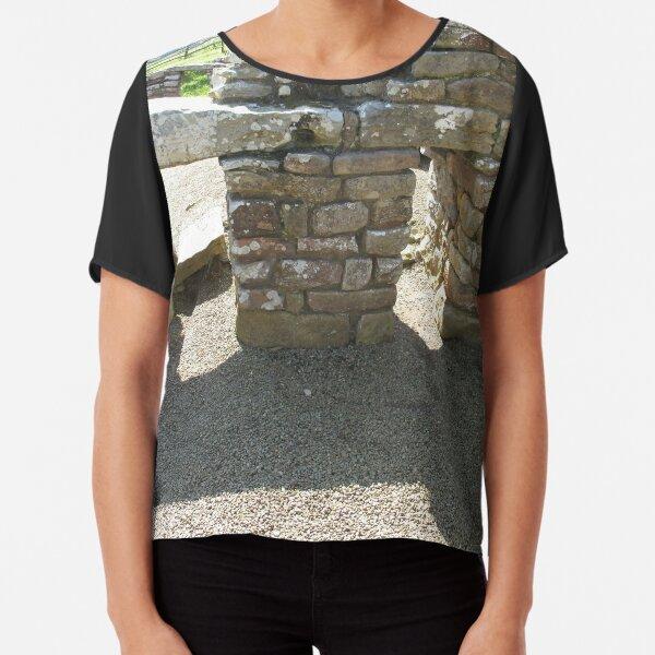 M.I. #115 |☼| Rocks And Bricks - Shot 14 (Hadrian's Wall) Chiffon Top