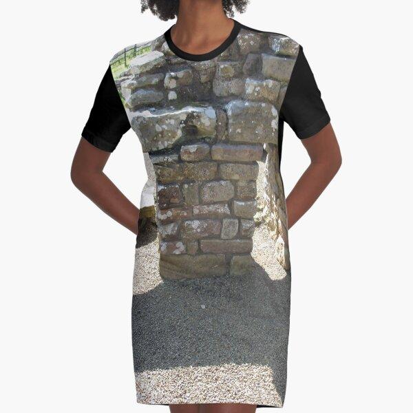 M.I. #115 |☼| Rocks And Bricks - Shot 14 (Hadrian's Wall) Graphic T-Shirt Dress