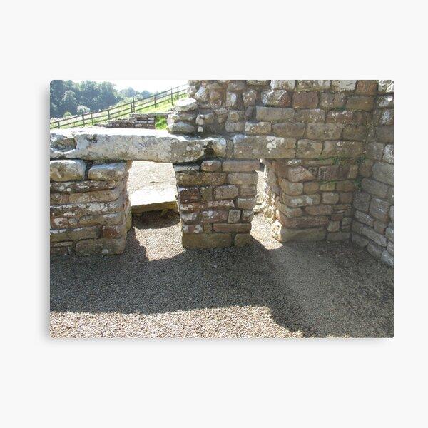 M.I. #115  ☼  Rocks And Bricks - Shot 14 (Hadrian's Wall) Metal Print