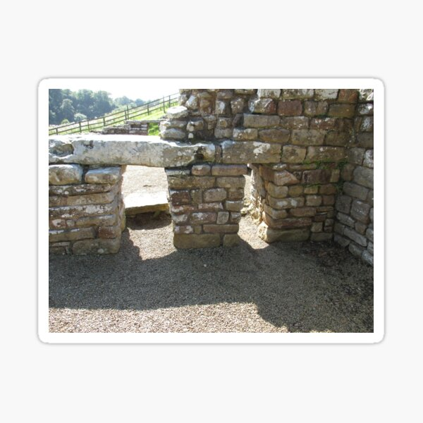 M.I. #115  ☼  Rocks And Bricks - Shot 14 (Hadrian's Wall) Sticker