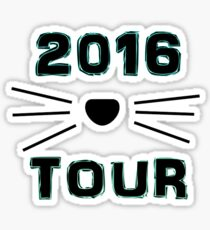 Dan and Phil NEW TOUR 2016 MERCH CAT WHISKERS! BLUE Sticker