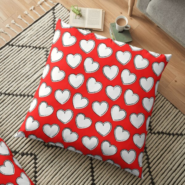 Heart Shaped Patterns , Patterns for couples, Heart shaped pattern for couples  Floor Pillow