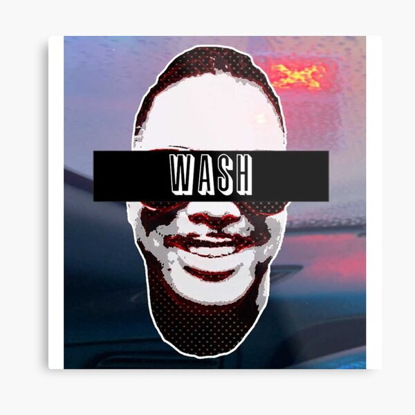 WASH _ PODCAST  OFFICIAL TEE Metal Print