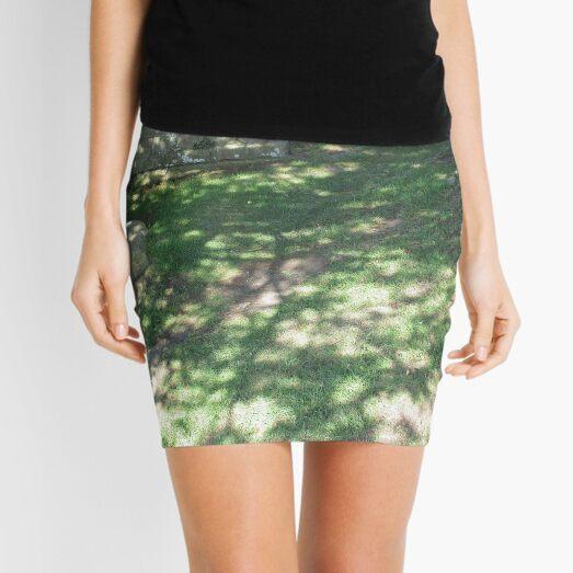 M.I. #116  ☼  Speckle Shadows (Hadrian's Wall) Mini Skirt