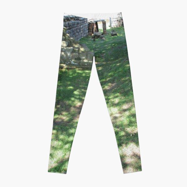 M.I. #116  ☼  Speckle Shadows (Hadrian's Wall) Leggings