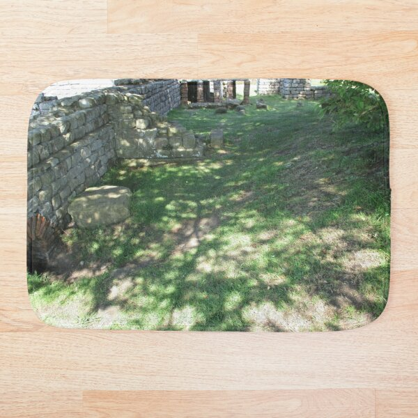 M.I. #116 |☼| Speckle Shadows (Hadrian's Wall) Bath Mat