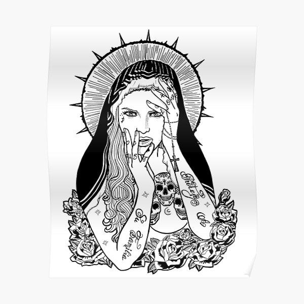 Virgin Mary Poster