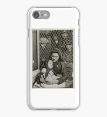 Italian Mother and Child, Ellis Island, New York, , by Lewis Wickes Hine iPhone Case/Skin