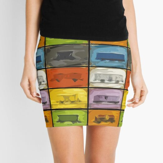 Ticket to Ride: Trains Mini Skirt