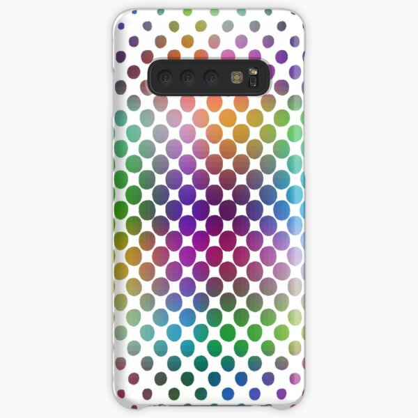 Radial Dot Gradient Samsung Galaxy Snap Case
