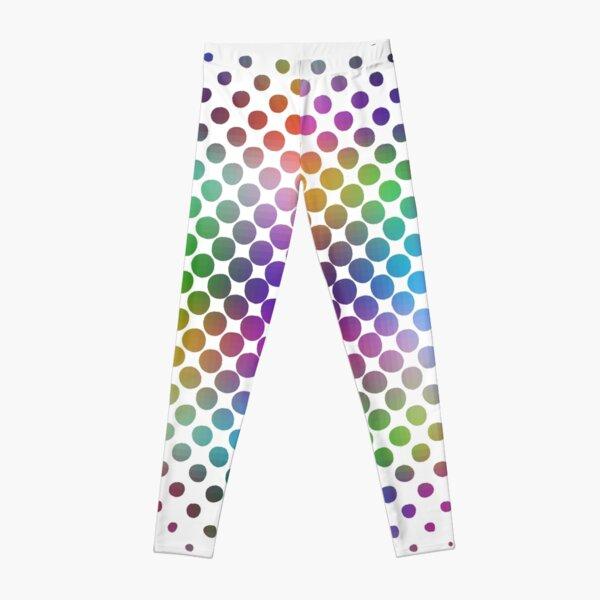 Radial Dot Gradient Leggings
