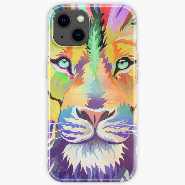 The King of Technicolor iPhone Soft Case