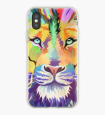 The King of Technicolor iPhone Case