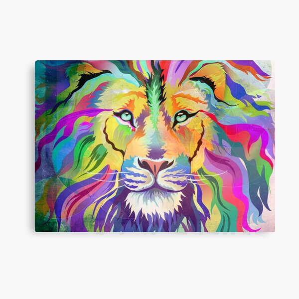 The King of Technicolor Canvas Print